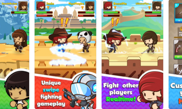 Level-Up Your Warrior Skills With New Gaming App Swipe Fighter Heroes!