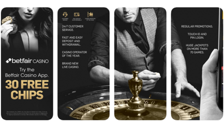 Betfair Casino Games Review