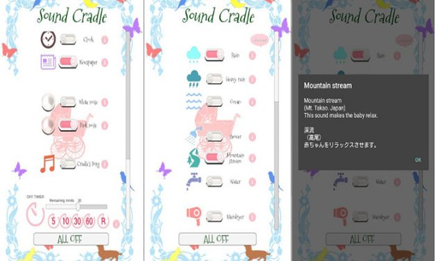 Sound Cradle :Baby Sleep Sound