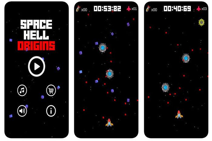 Space Hell Origins: Alien Shooter & Space Defender