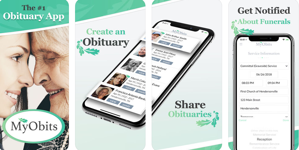 MyObits is modernizing the obituary industry with cost effective digital death notices