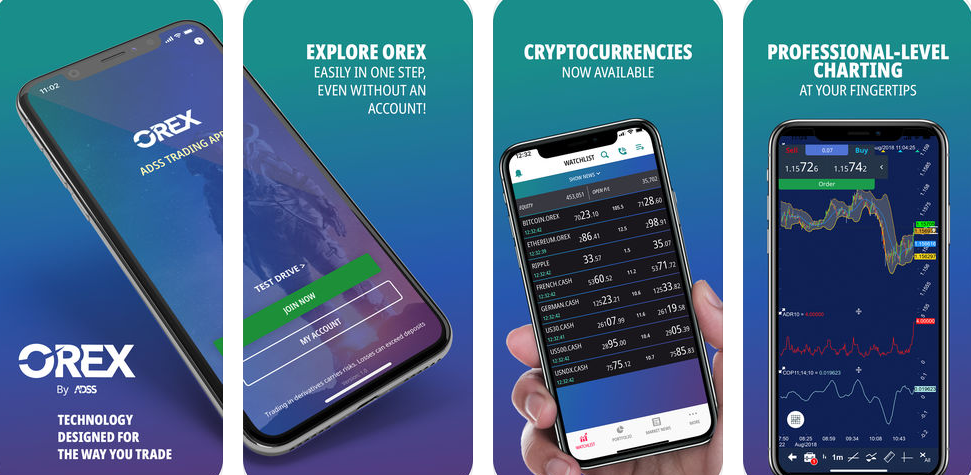 ADSS Trading App, Orex – The One-Stop Source For All Your Trading Needs