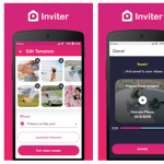 "Make a Fabulous Video Invite for guests with ""Video Invitation Maker"" app of Inviter"