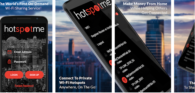 HotSpotMe is the name. Making cash from connections is the game.