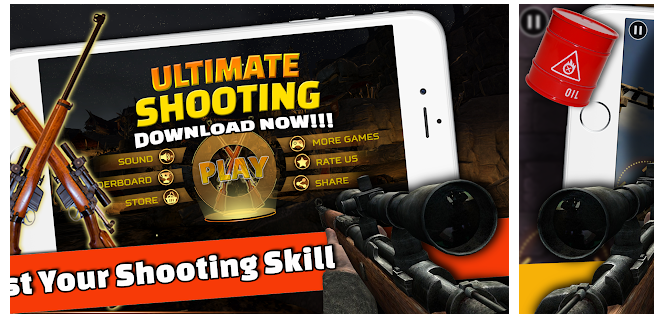 Aim and shoot with Ultimate Sniper game