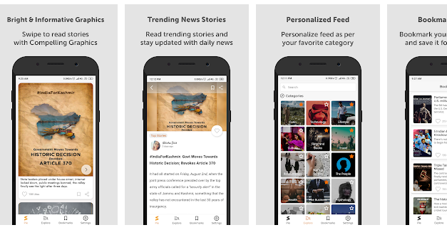 Get the latest news in a fast & easy approach with StoryPie