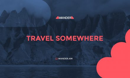 WANDER- FLY, TRAVEL AND STAY ANYWHERE YOU WANT!