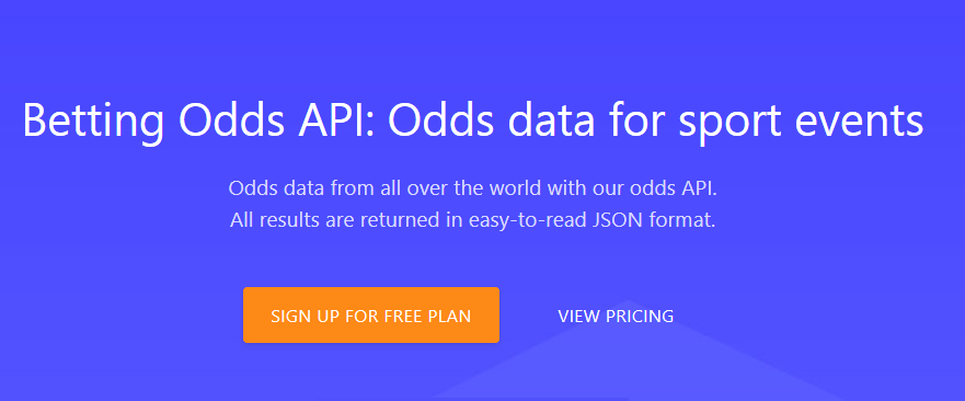 Odds API – Build Sports Applications With Ease