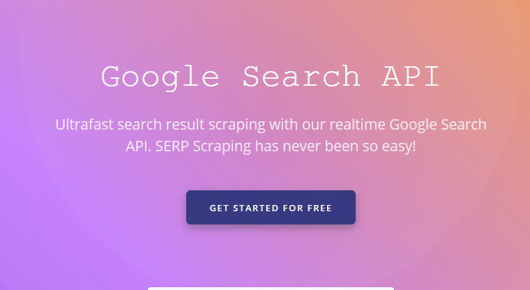 Serpproxy – The Best Google Search API to Scrape SERP Results