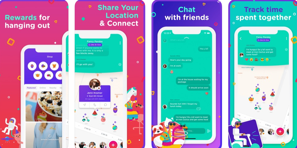 Bthere: an app that empowers real-life connections