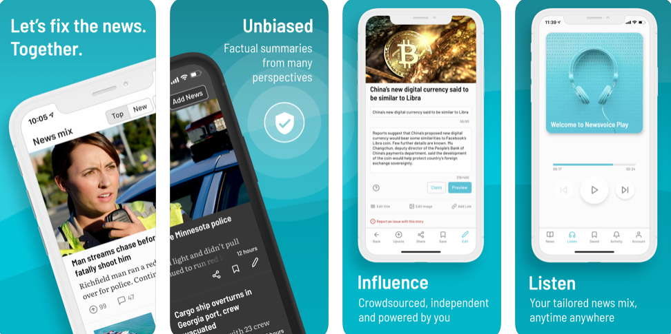 Newsvoice – A Simple and Easy to Use News App