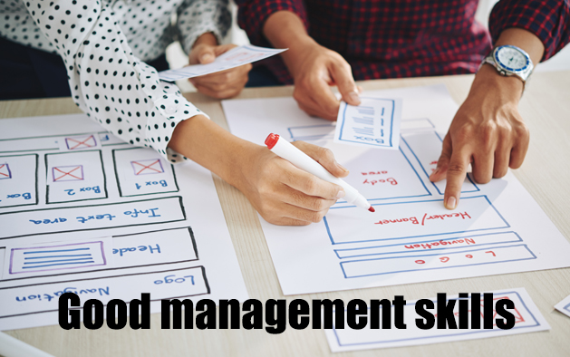 Why are you running behind in your project despite a good management skills?