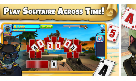 Familiar solitaire gameplay with exciting new mechanics & challenges.