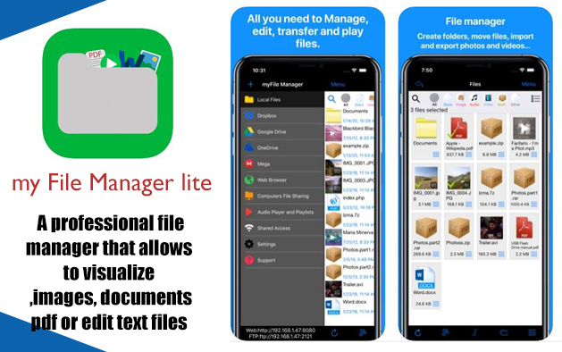 my File Manager lite
