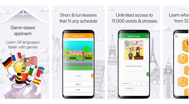 Learn the Language of Your Choice with 'FunEasyLearn' App