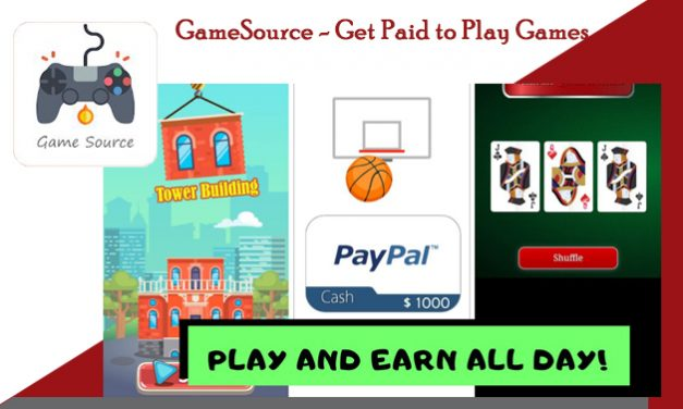 GameSource – Get Paid to Play Games