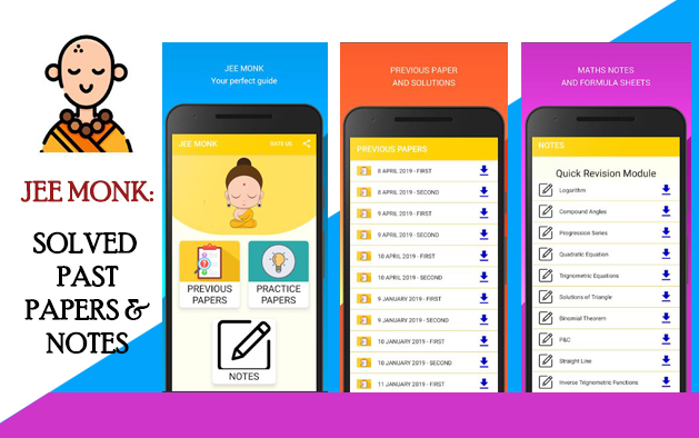 JEE MONK: SOLVED PAST PAPERS & NOTES