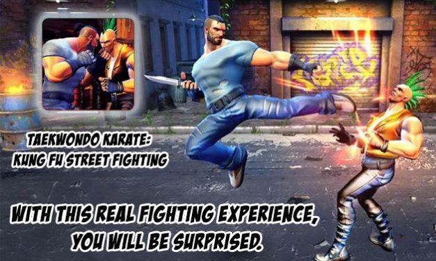 Taekwondo Karate: Kung Fu Street Fighting