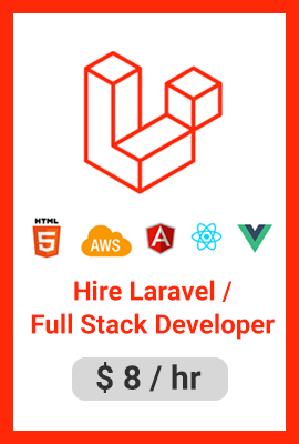 Hire Laravel Full Stack Developers