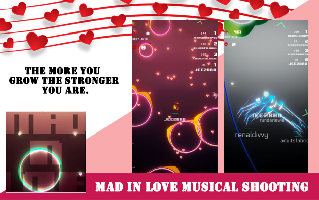 Mad In Love Musical Shooting – Casual Game -Review