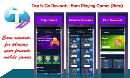 Tap N Go Rewards: Earn Playing Games (Beta)