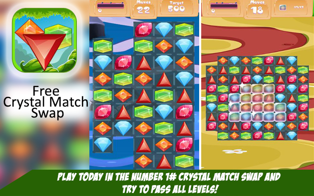 Free Crystal Match Swap