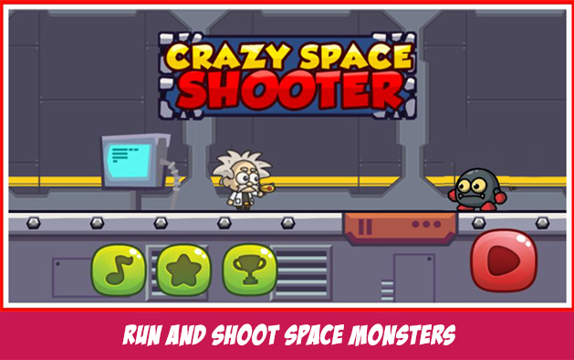 Crazy Space Shooter -Impossible Run and Jump