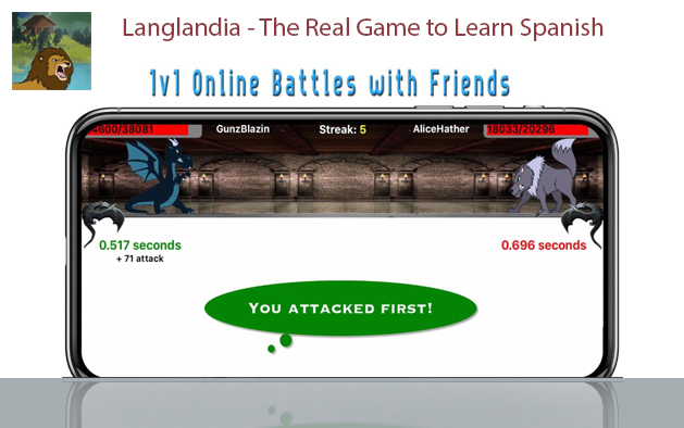 Langlandia – The Real Game to Learn Spanish