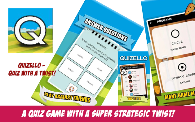 Quizello – quiz with a twist!
