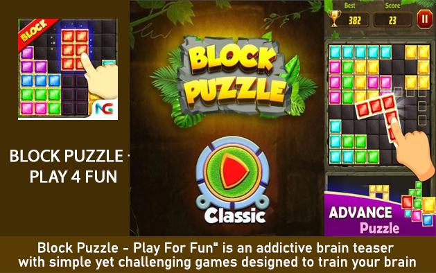 Block Puzzle – Play 4 Fun