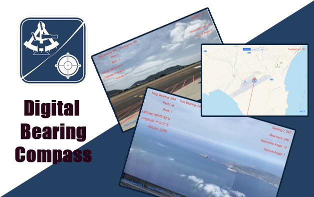 Digital bearing compass