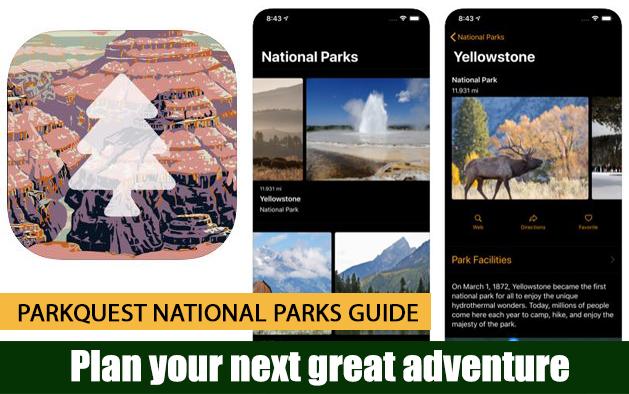 ParkQuest National Parks Guide