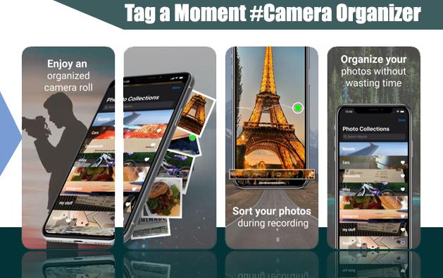 Tag a Moment #Camera Organizer
