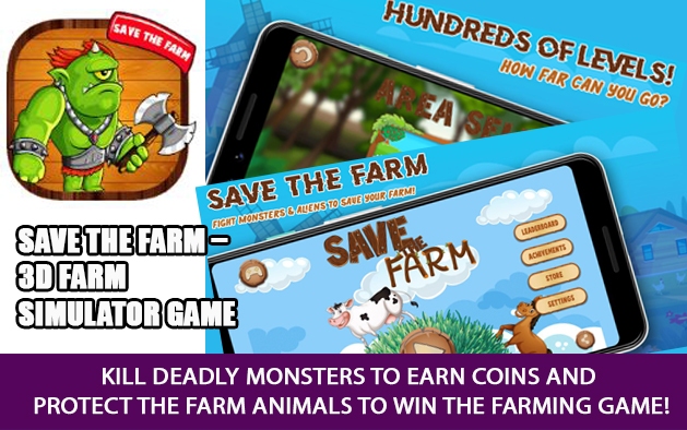 Save the farm – 3D Farm simulator game
