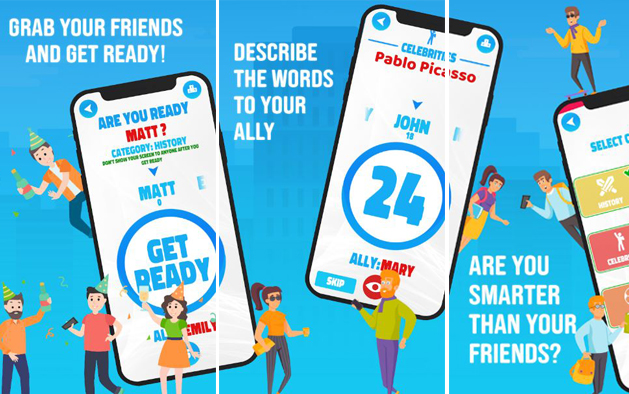 ALLY: Social Charades Game for Friends & Family