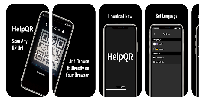 Scan and Browse almost anything with HelpQR