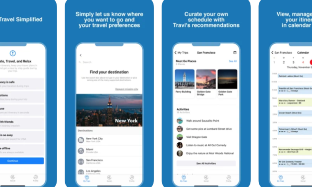 Travi – Unique itinerary maker of the year