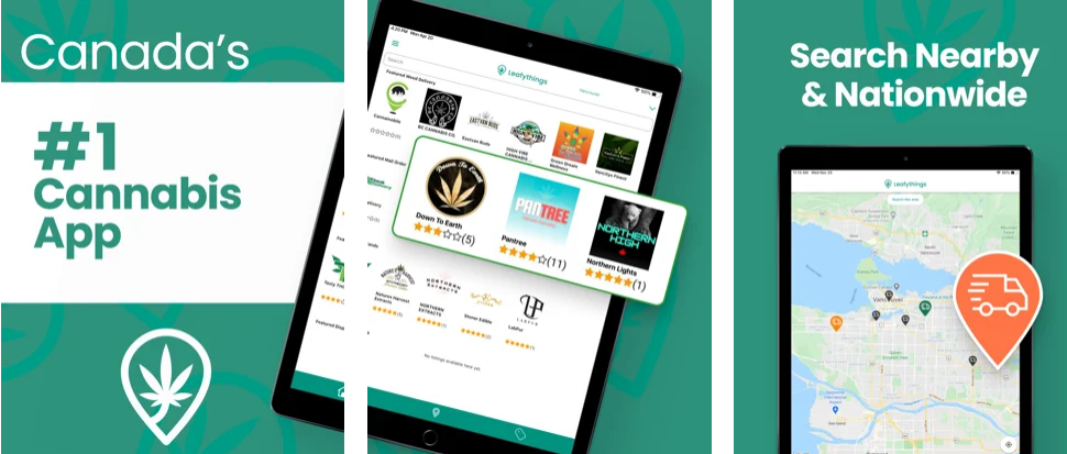 The most comprehensive Cannabis app for Canadians