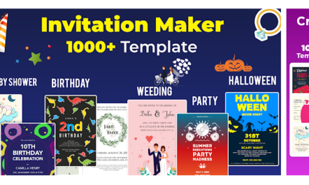Make your Digital Invitation Cards on Android