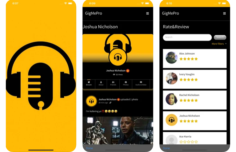 GigMePro – The Cool App for All Creatives