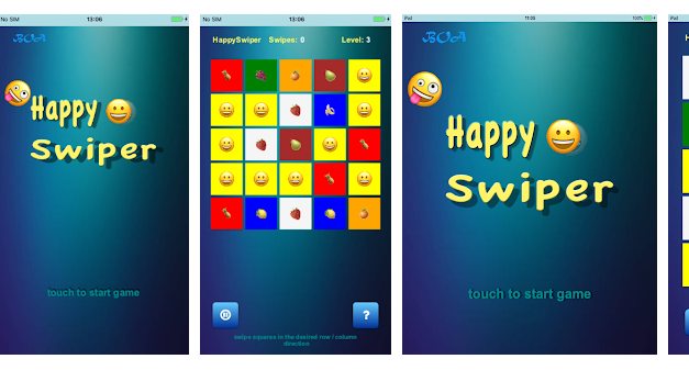 Happy Swiper – real way to be happy !