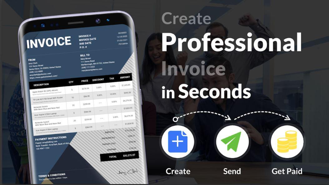 Invoice Maker – Easy Estimate Maker & Invoice App