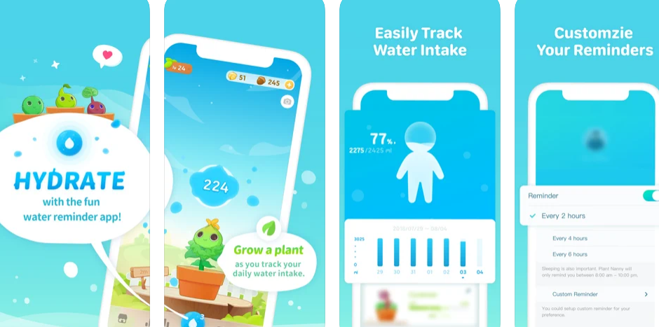 Plant Nanny2 – Unique way to stay motivated  of being hydrated