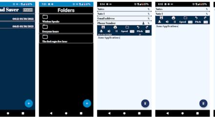 Edible Notepad Saver App
