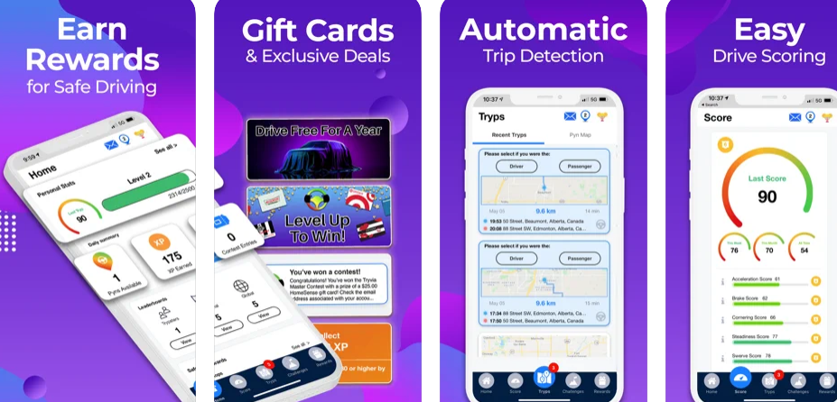 TrypScore aims to reduce road casualties and reward drivers for safe driving